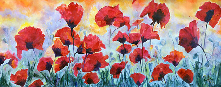 Peace Poppies  two