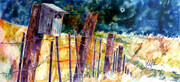 Walls & Fences 6 (Rangeland birdhouse)